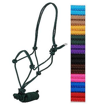 Rope Halter With 8' Lead