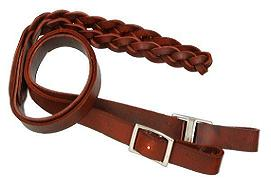 Royal King Latigo 3 Plait Roping Reins